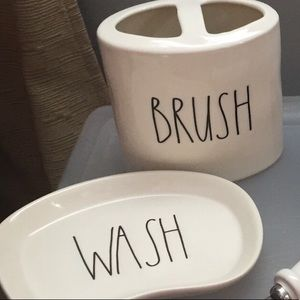 Other - Rae Dunn bathroom/kitchen set